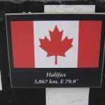 Halifax, Nova Scotia sign in Banff, Alberta