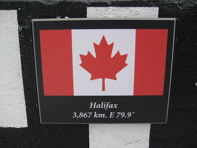 Halifax, Nova Scotia sign in Banff, Alberta