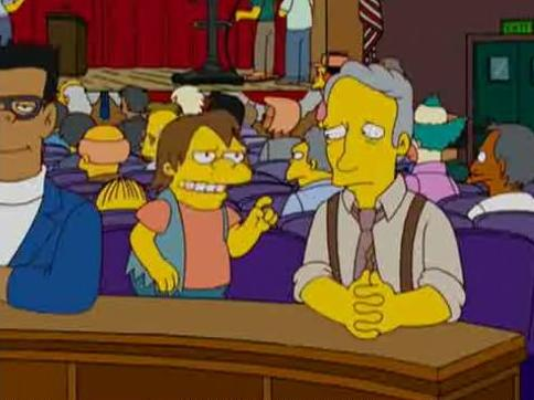 "Nelson to Washington Post: ""Hah hah! Your medium is dying!"" - (S19E10: E Pluribus Wiggum)"