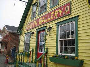 Raven Gallery in Tatamagouche, Nova Scotia