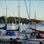 Junior Sailors at the Bedford Basin Yacht Club enjoyed a beautiful night for their final race night of the season.