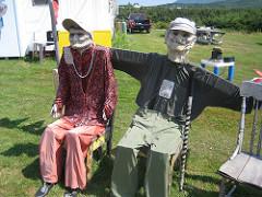 Joe's Scarecrows, near Cheticamp