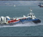 This hovercraft travels from Portsmouth to the Isle of Wight. Phot courtesy of portsmouth-guide.co.uk.