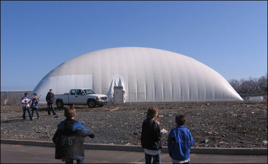 The Gary Martin Dome Arena, located off of Damascus Road.