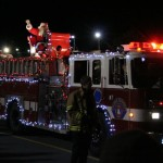 Santa was his usual jolly self during Bedford's annual Santa Claus Parade on Sunday evening. See photos from the parade below.