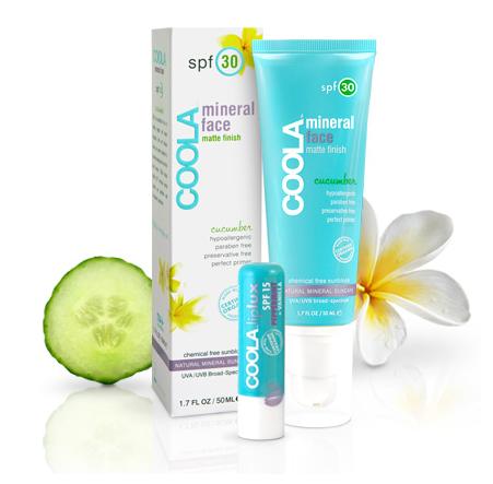 coola suncare: organic sunscreen   sunblock