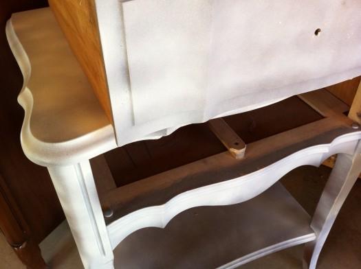 repainting furniture