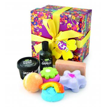 happy mother's day with lush