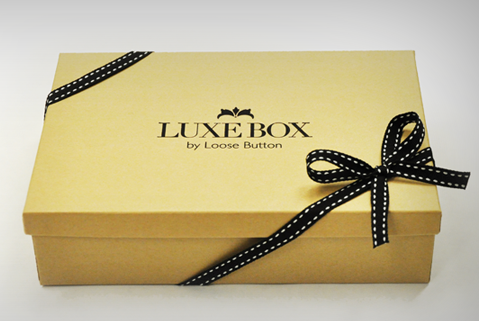 loose button: luxe box