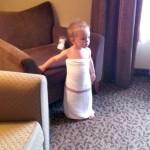 wordless wednesday: toga baby