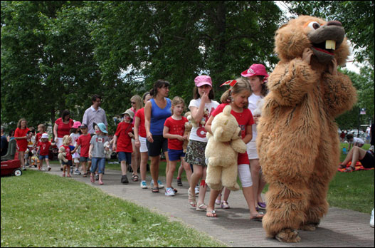 Bedford Days: Teddy Bears on Parade