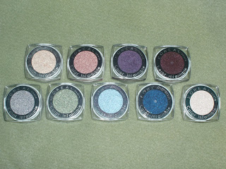 L'Oreal Color Infallible eyeshadows