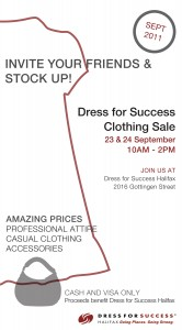 Fun Event Promotion Time! – Dress for Success, Annie Thompson Oh Dina!