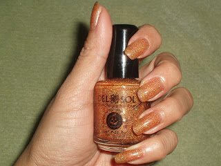 NOTD: Del Sol Trick-or-Treat