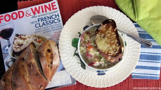 Food Wine Magazine: October Cover Recipe