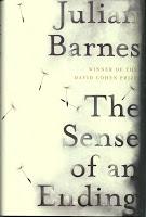 Man Booker Prize: Julian Barnes -The Sense of an Ending