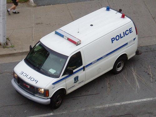Halifax police paddy wagon