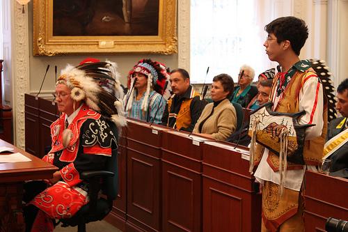 Mi'kmaq Chief Terry Paul