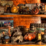 CURIO SHELF ( hdr)