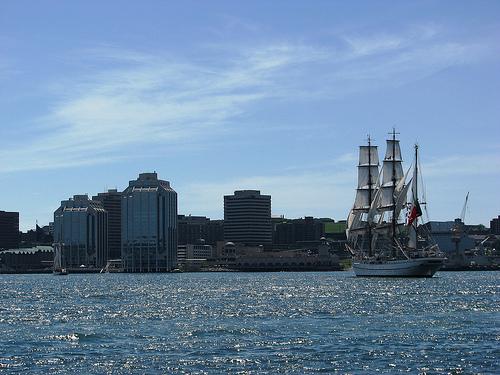 Sagres, Parade of Sail, Tall Ships Halifax 2009