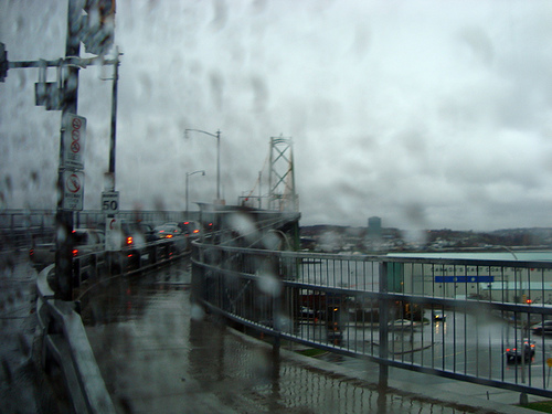 McKay Bridge in the Rain