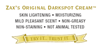 zax's original creams: treat sun spots bruises naturally | $87 full set giveaway