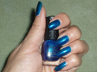 NOTD: Quo by Orly Sapphire Sparkle