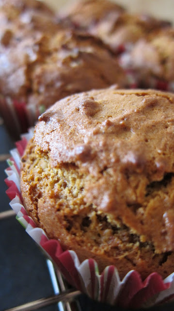 Gingerbread Muffins with Brown Butter Frosting