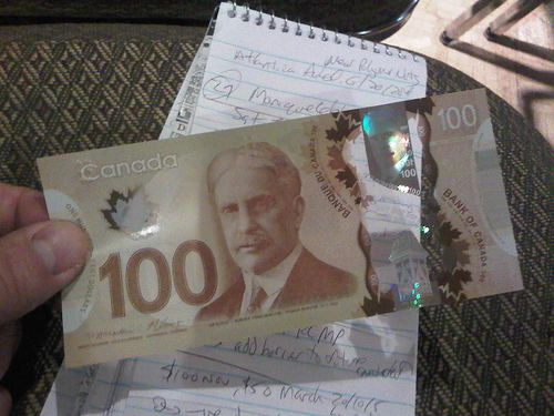 First look at the new $100 Cdn bill