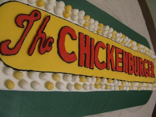 the Chickenburger Cake