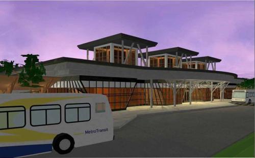 Dartmouth Bus shelter rendering