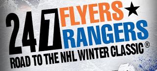 Guest Blog: 24/7 Rangers vs. Flyers, Episode One