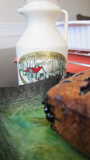Buttermilk-Blueberry Breakfast Cake for Nelly's Big Day (#NellysBigDay)