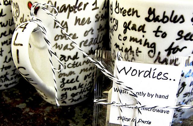 Literary mugs...