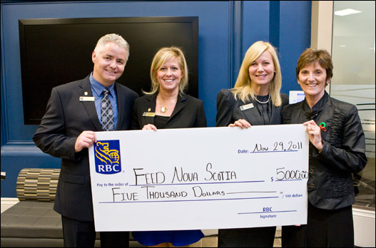 RBC contributes $5,000 to FEED Nova Scotia