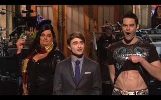 Allison Blogs SNL: Daniel Radcliffe