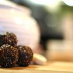 stop buying granola bars make these: no bake chocolate energy balls
