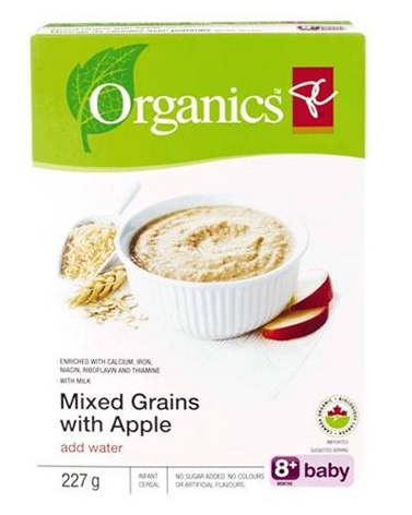 """organic baby cereals recalled due to """"foul odor"""""""