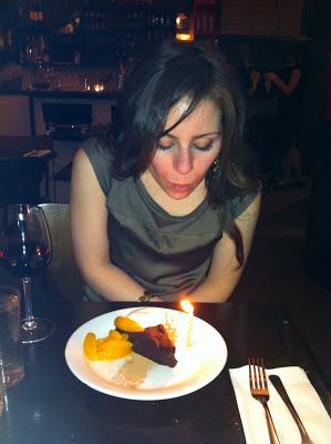 My Birthday Dinner at Morris East