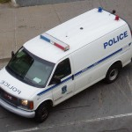 Halifax police paddy wagon