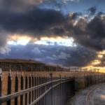 Sunset at the Citadel, Halifax, NS - HDR
