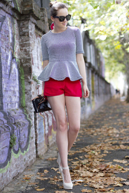 Spotted: The Peplum Top Trend