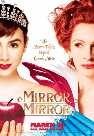Movie Break Giveaway: Win a Pass for 4 to see Mirror Mirror