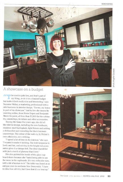 Homes Halifax...in my kitchen