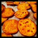 Shortcut Recipes: Oven Baked Spicy Sweet Potato Chips