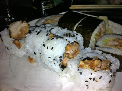 All you can eat sushi at Zuri