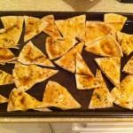 Homemade (Spicy) Pita Chips