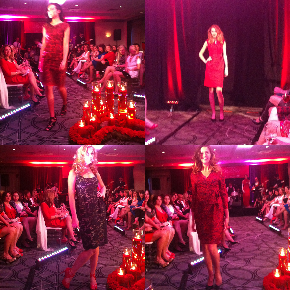 Some of the great dresses from the Foreign Affair fashion show.