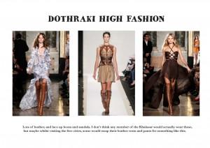 dothraki high fashion