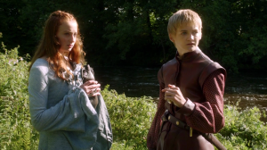 Of course Sansa was attracted to Joffrey. Makes perfect sense.